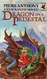 Dragon on a Pedestal (Xanth #7)