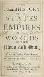 The Comical History of the States and Empires of the Moon and Sun