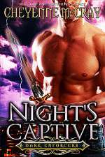 Night's Captive (Dark Enforcers, #1)