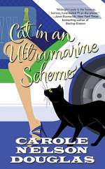 Cat in an Ultramarine Scheme (Midnight Louie Mysteries #22)