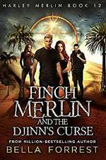 Finch Merlin and the Djinn's Curse (Harley Merlin, #12)