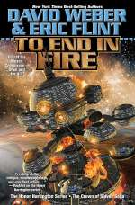 To End in Fire (The Crown of Slaves Saga #4)