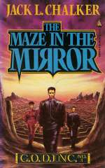 The Maze in the Mirror (G.O.D. Inc, #3)