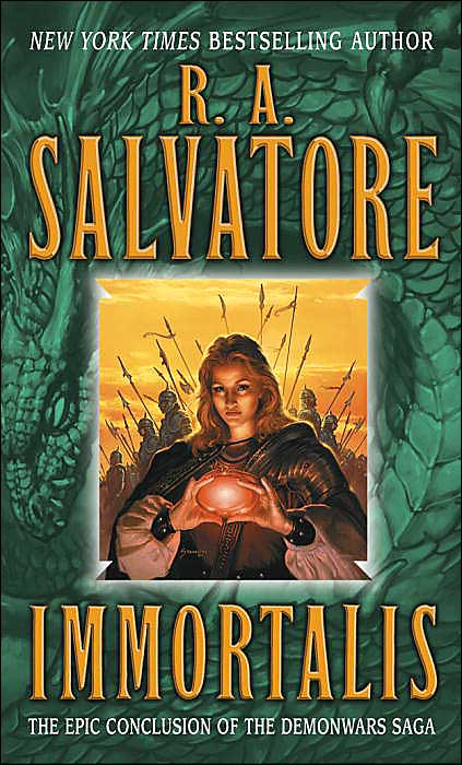 Immortalis (The Second DemonWars Saga #3) - R. A. Salvatore
