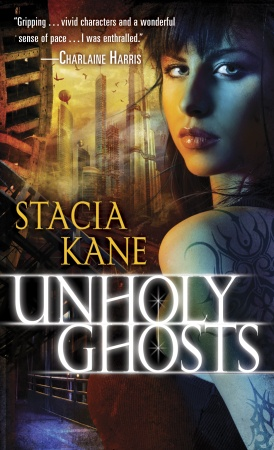 Unholy Ghosts (The Downside Ghosts #1) - Stacia Kane