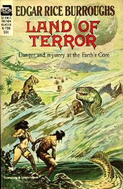 Land of Terror (Pellucidar #6) - Edgar Rice Burroughs