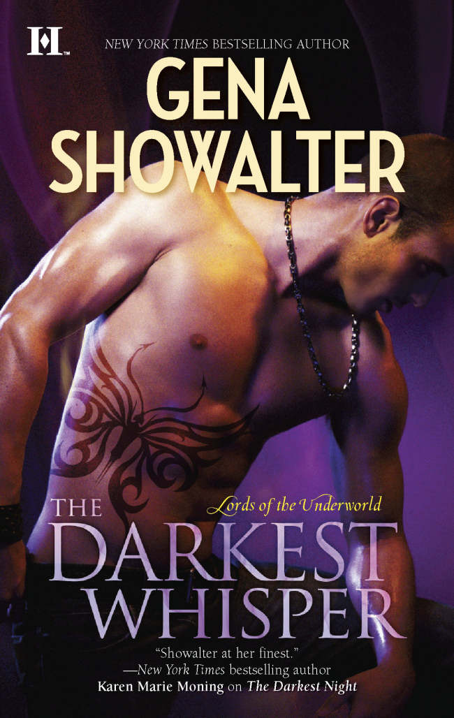 The Darkest Whisper (Lords of the Underworld #4) - Gena Showalter