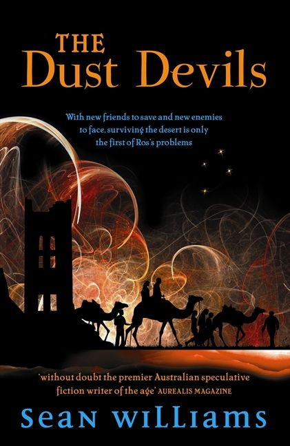 The Dust Devils (The Broken Land #2) - Sean Williams