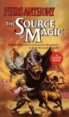The Source of Magic (Xanth #2) - Piers Anthony