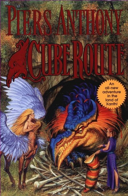 Cube Route (Xanth #27) - Piers Anthony