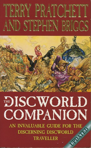 The Discworld Companion Updated - Terry Pratchett, Stephen Briggs