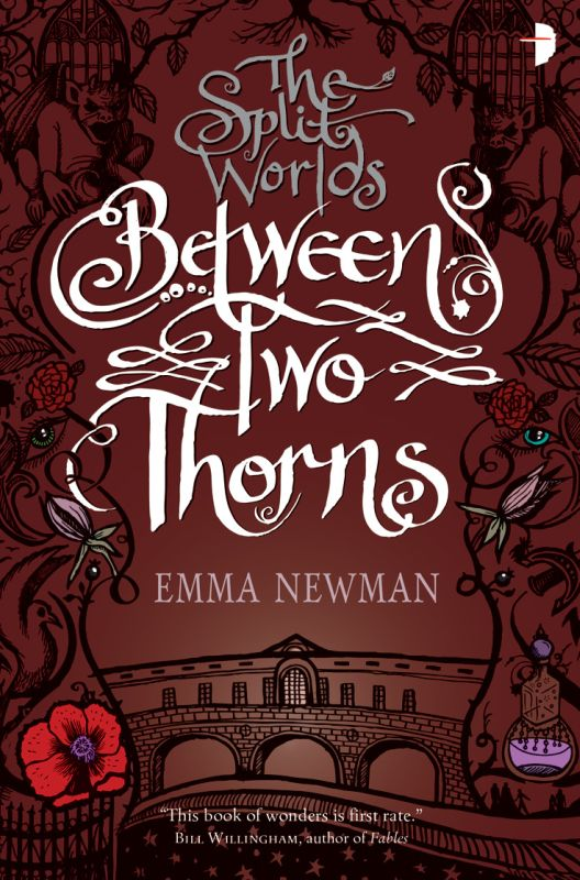 Between Two Thorns (The Split Worlds #1) - Emma Newman