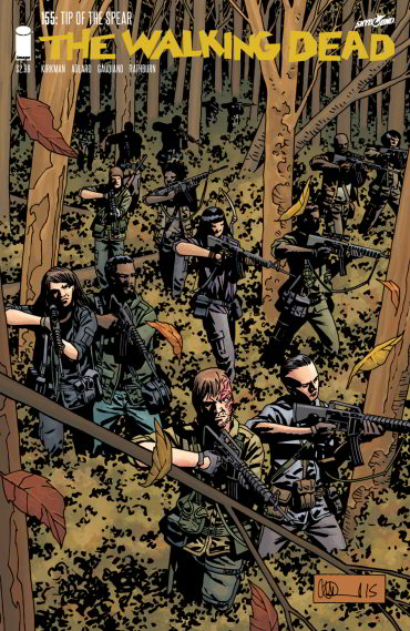 The Walking Dead, Issue #155 (The Walking Dead (single issues) #155) - Charlie Adlard, Robert Kirkman, Cliff Rathburn, Stefano Gaudiano