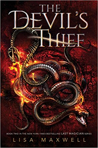 The Devil's Thief (The Last Magician #2) - Lisa Maxwell