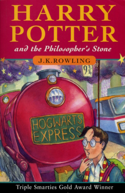 Harry Potter and the Philosopher's Stone (Harry Potter #1) - J. K. Rowling
