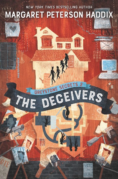 The Deceivers (Greystone Secrets #2) - Margaret Peterson Haddix