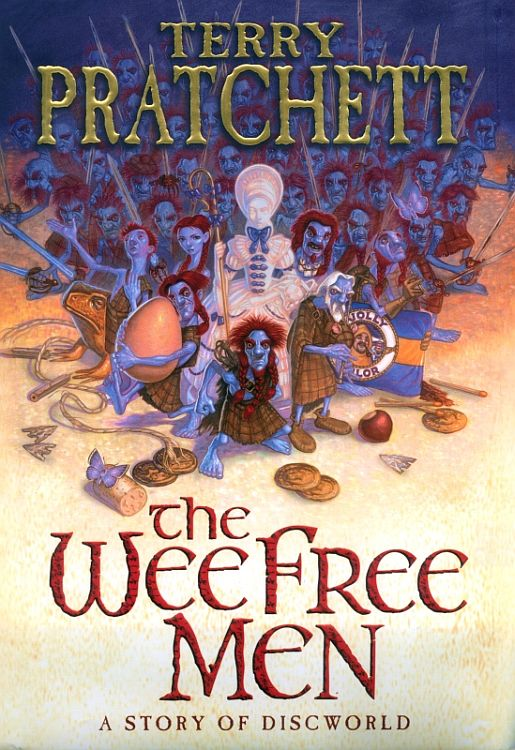 The Wee Free Men (Discworld (for young readers) #2) - Terry Pratchett