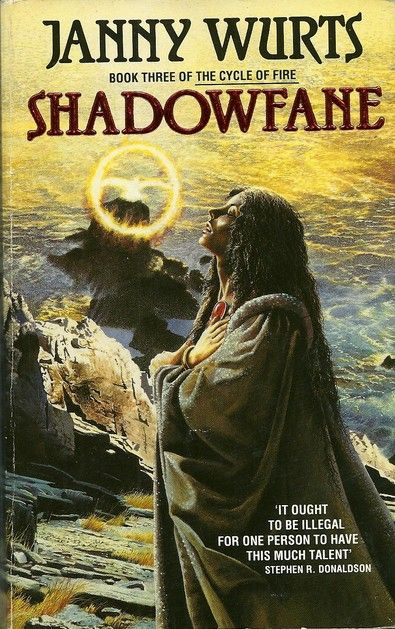 Shadowfane (The Cycle of Fire #3) - Janny Wurts